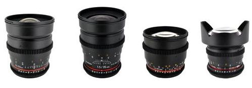 Rokinon Cine Lens Bundle Deals