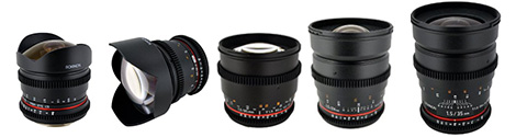 Rokinon Cine Lenses for Sony E Mount