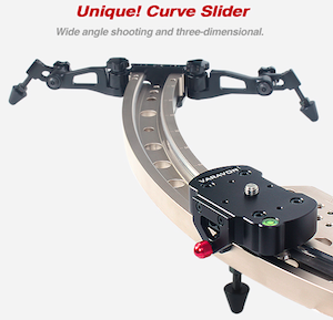 Varavon Curved Arc Slider