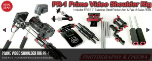 Prime-15mm-DSLR Video Shoulder-Rig-PR-1