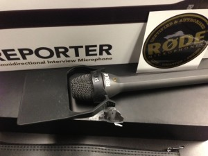 Rode Reporter Microphone ENG Handheld