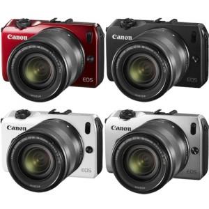 Canon EOS-M Mirrorless 18-55mm