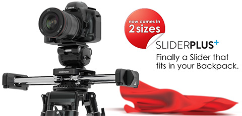 Edelkrone SliderPlus NAB2013 Motorized Motor Pan Head copy