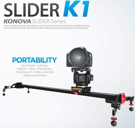 Konova K1 Video Slider