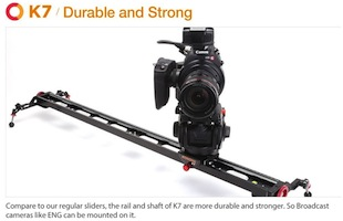 Konova K7 Video Camera Slider
