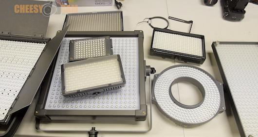 LED Video Lights Cheesycam