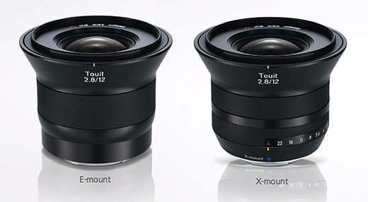 New Zeiss Sony E Mount