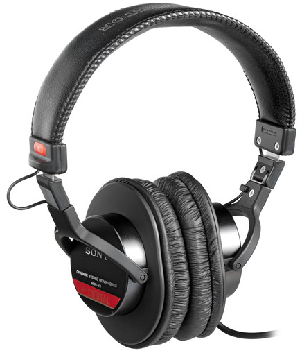 Sony MDR-V6 Monitor and Tascam TH02 Monitor Headphones