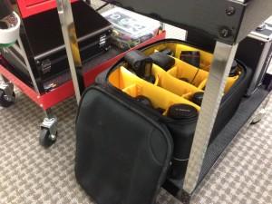 cheesycam camera video tool cart