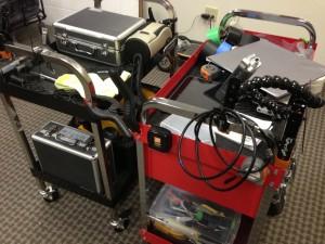 cheesycam tool cart camera gear