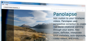 Panolapse Software 360