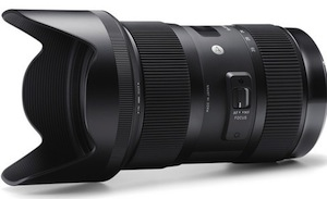 Sigma Worlds Fastest Zoom lens