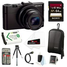 Sony RX100 Mark II RX100M2 Bundle Sale Stock