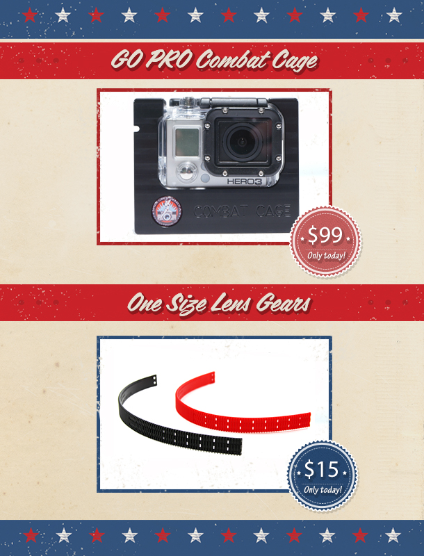 July 4th Savings from WideOpenCamera Products