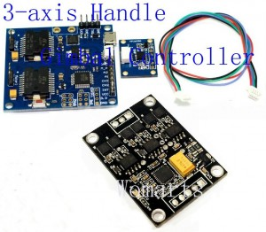 3 axis brushless controller HiFly program software