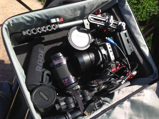 BlackMagic Pocket Cinema Camera + Rode VideoMic Pro + Captured on Atomos Ninja 2