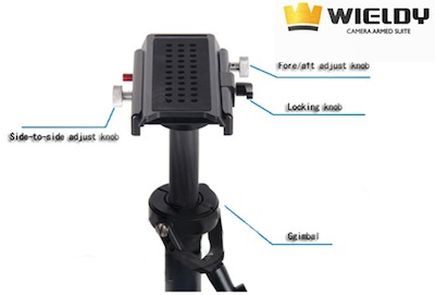 Wieldy Vest Stabilizer Kit Video System
