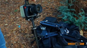BMCC-Cage-BlackMagic Design Laing X-15 Stabilizer Vest Kit Review Video Sample