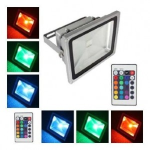 LED Outdoor Flood Light Color Change RGB LED
