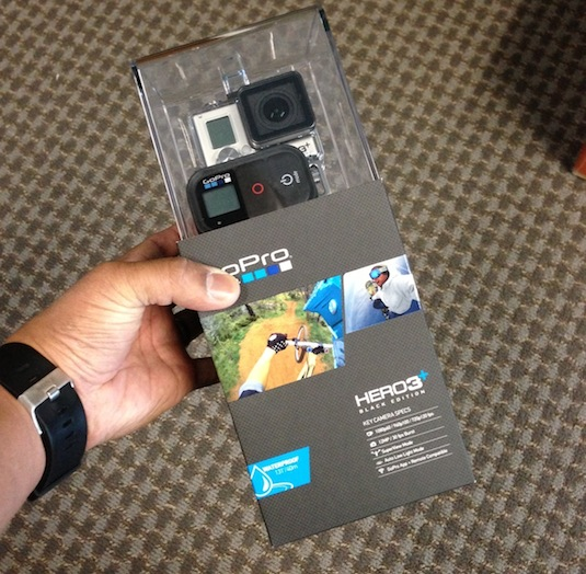 GoPro Hero3+ Black Edition In Hand