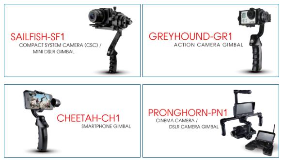 Mastor Tech Motorized Gimbal Brushless Stabilizer DSLR GoPro iPhone Sony