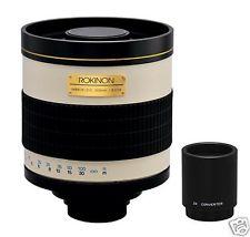 Rokinon Mirror Lens Canon Nikon