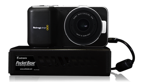 BlackMagic Pocket Cinema – Switronix PocketBase + Kamerar MagView