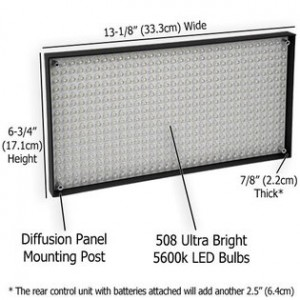 508 LED Video Light