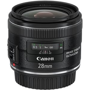 Canon 28mm Prime IS Image Stabilization