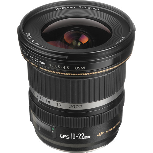 Canon EF-S 10-22mm F/3.5-4.5 USM Lens Deal + 85mm F/1.8 USM