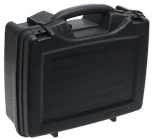 Plano 4 pistol case foam lined camera case