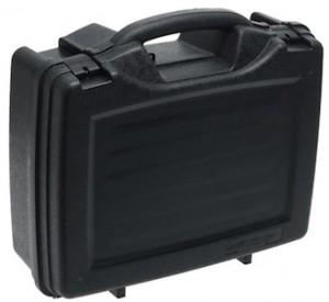 Plano 4 pistol case foam lined camera case
