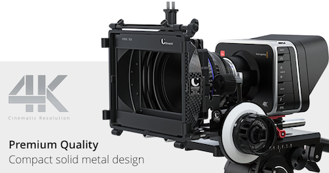 BlackMagic 4K Cinematic Camera Cinema Production