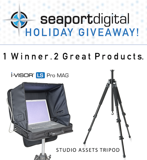 1 Winner. 2 Great Products. Holiday Giveaway from Seaport Digital