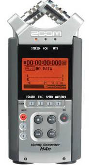 Zoom H4n Portable Digital Audio Recorder $-100 Instant Savings