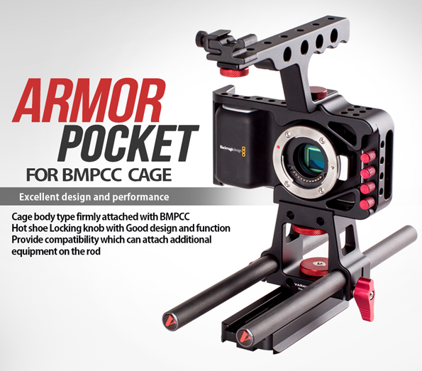Varavon Cage for BlackMagic Pocket Cinema Cameras