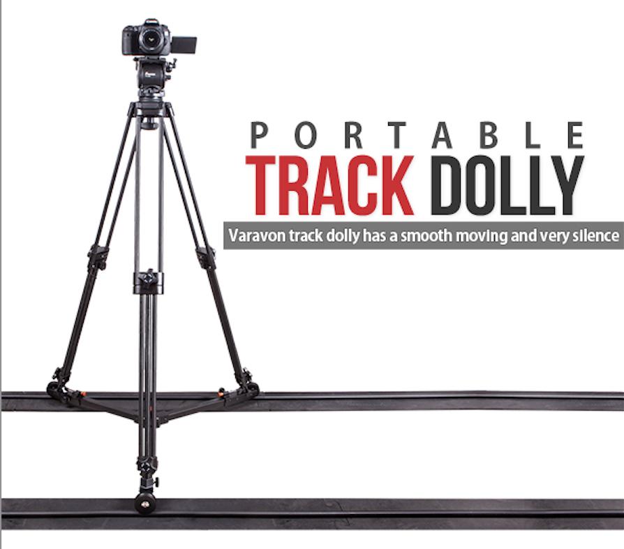 Varavon Portable Track Dolly System