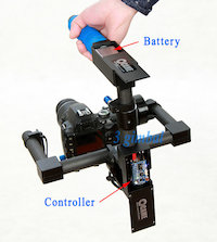 Battery Gimbal Stabilizer Controller
