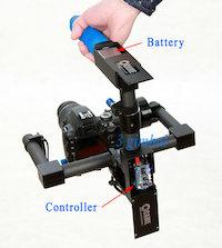Battery Gimbal Stabilizer Controller