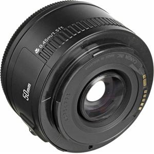 Canon 50mm F/1.8 EF Lens $99 In Cart Deal