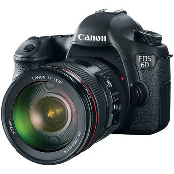 Canon 6D Full Frame Digital SLR + 24-105mm F/4L IS Lens Deal