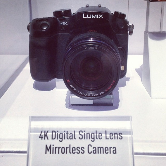 Cheesycam Panasonic GH4K G4K Camera CES2014