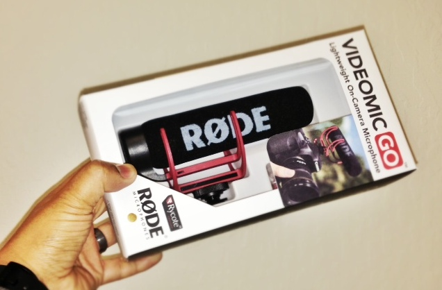 Rode VideoMic Go Cheesycam Shotgun DSLR Video Microphone