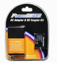AC DC Battery Adapter Kit GoPro Hero Hero3 Plus Dummy Battery