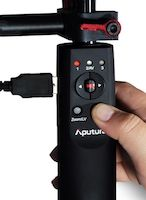 Aputure Canon USB Follow Focus Remote Rig Handle 15mm