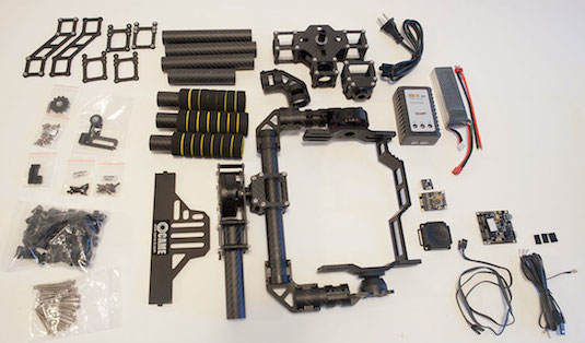 Cheesycam CAME 7000 3 Axis Gimbal Stabilizer Assembly Instructions