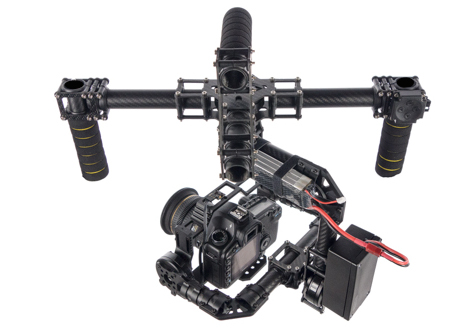 CAME 7000 3 Axis Gimbal First Impression and Demo Video