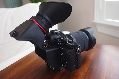 Kamerar QV-1 M on Sony A7