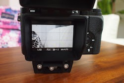 Sony A7r A7 LCD View Finder Loupe Kamerar QV-1 M