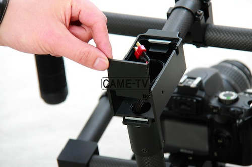 came gimbal rear battery door